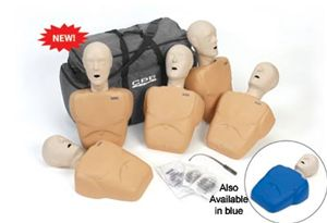 CPR Prompt 5-Pack Adult/Child Training Manikin - Tan