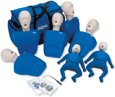 CPR Prompt 7-Pack Manikins - Blue