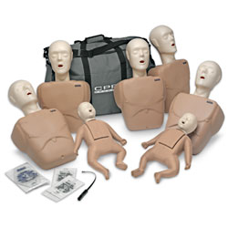 CPR Prompt 7-Pack Manikins - Tan