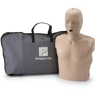 Prestan Adult Medium Skin CPR-AED Training Manikin without CPR Monitor