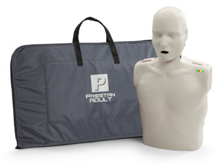 Prestan Adult CPR Manikin with Monitor (with 10 faceshield / lungbags & carry bag) + FREE BONUS
