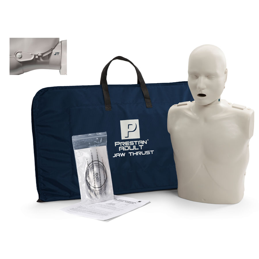 Prestan Adult Jaw Thrust CPR-AED Training Manikin without CPR Monitor