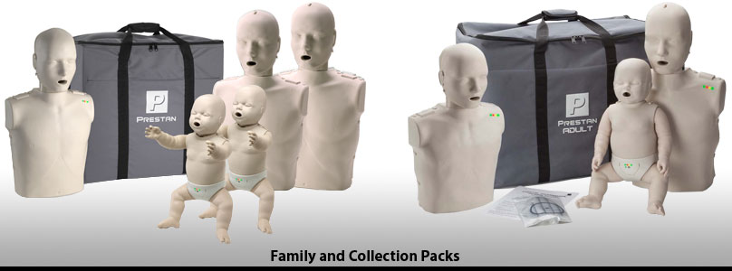 Prestan Professional Family CPR & AED Training Manikins